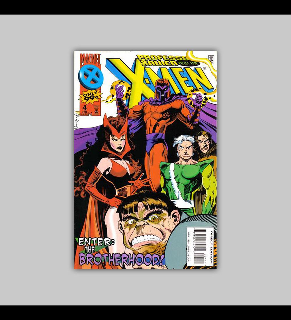 Professor Xavier and the X-Men 4 1996