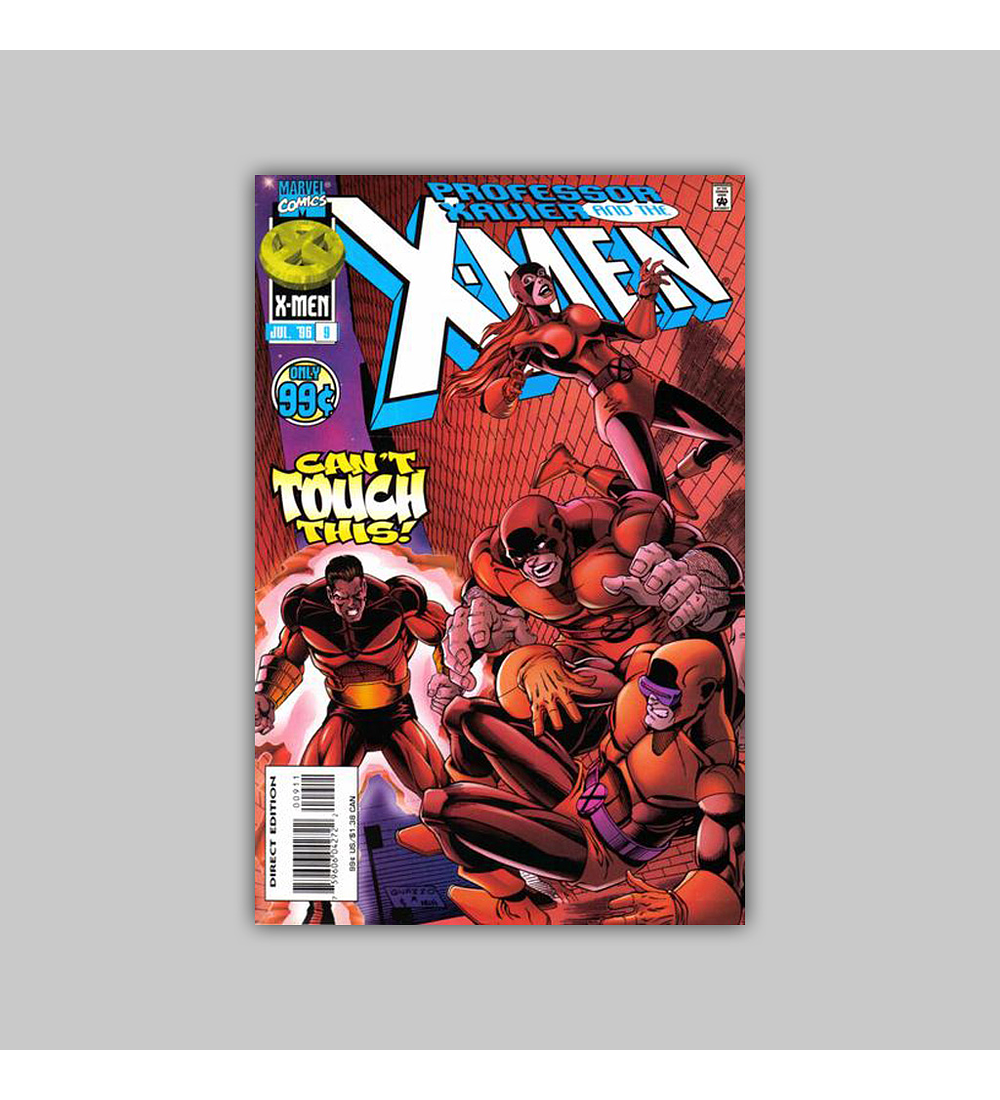 Professor Xavier and the X-Men 9 1996