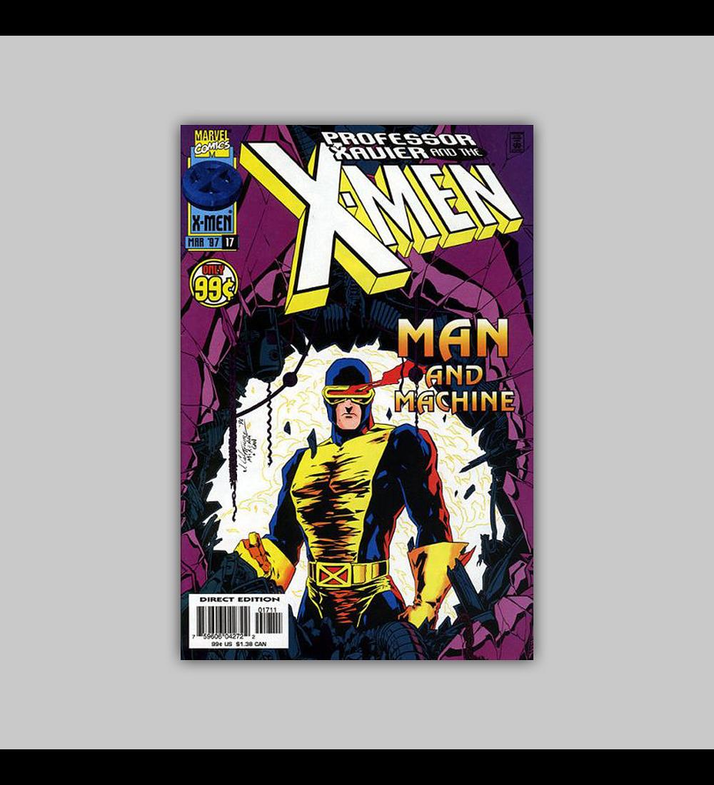 Professor Xavier and the X-Men 17 1997