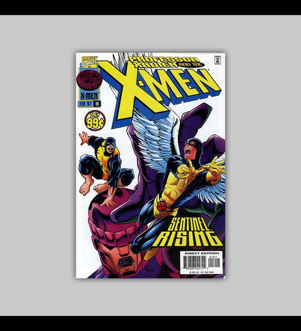 Professor Xavier and the X-Men 16 1997