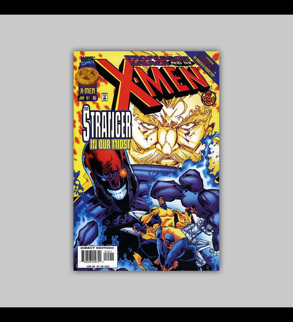 Professor Xavier and the X-Men 15 1997