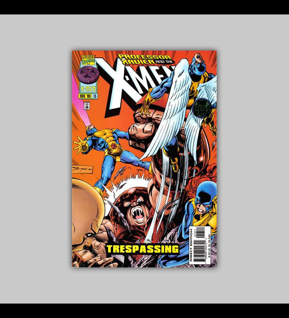 Professor Xavier and the X-Men 13 1996