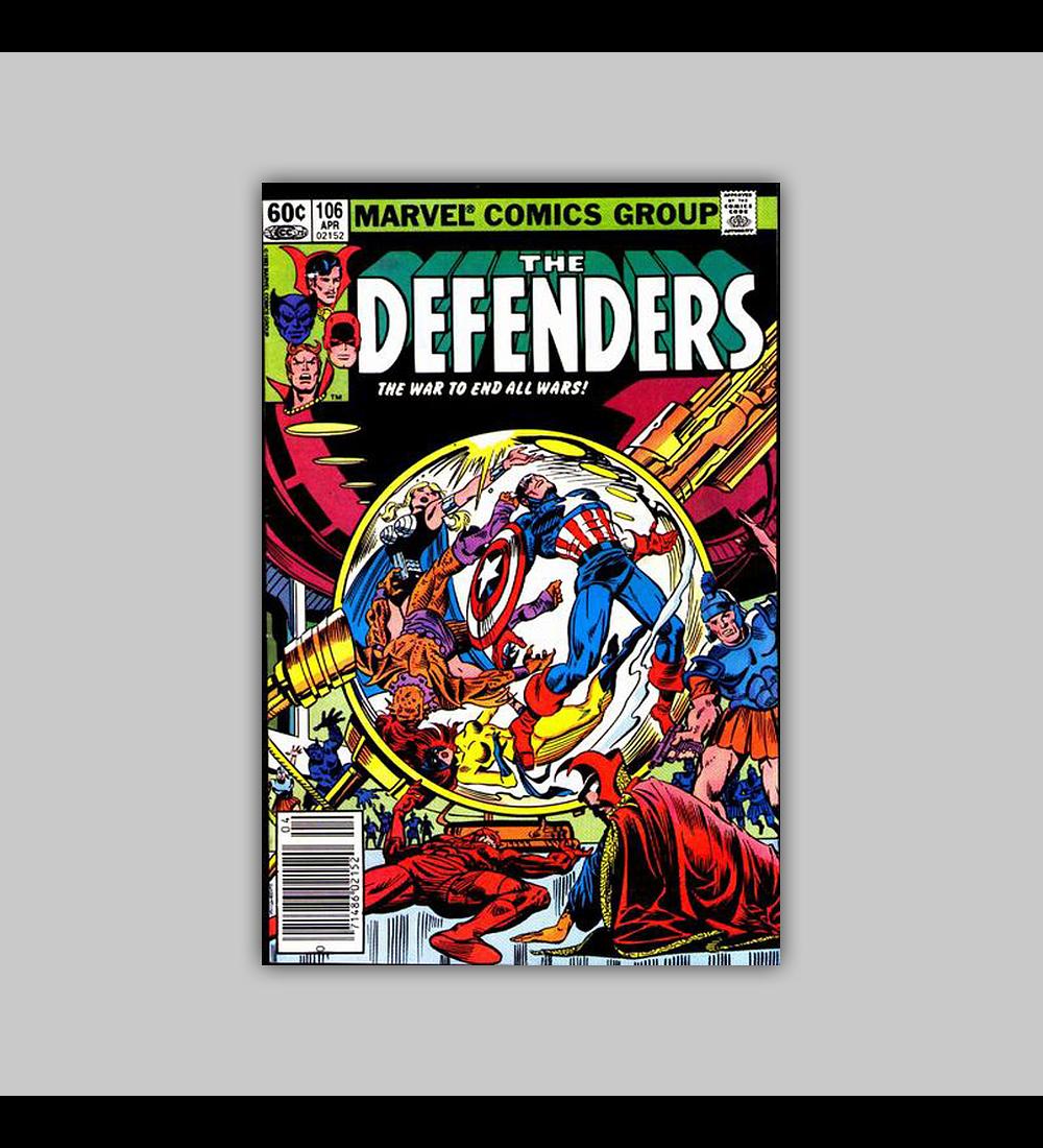 Defenders 106 VF (8.0) 1982