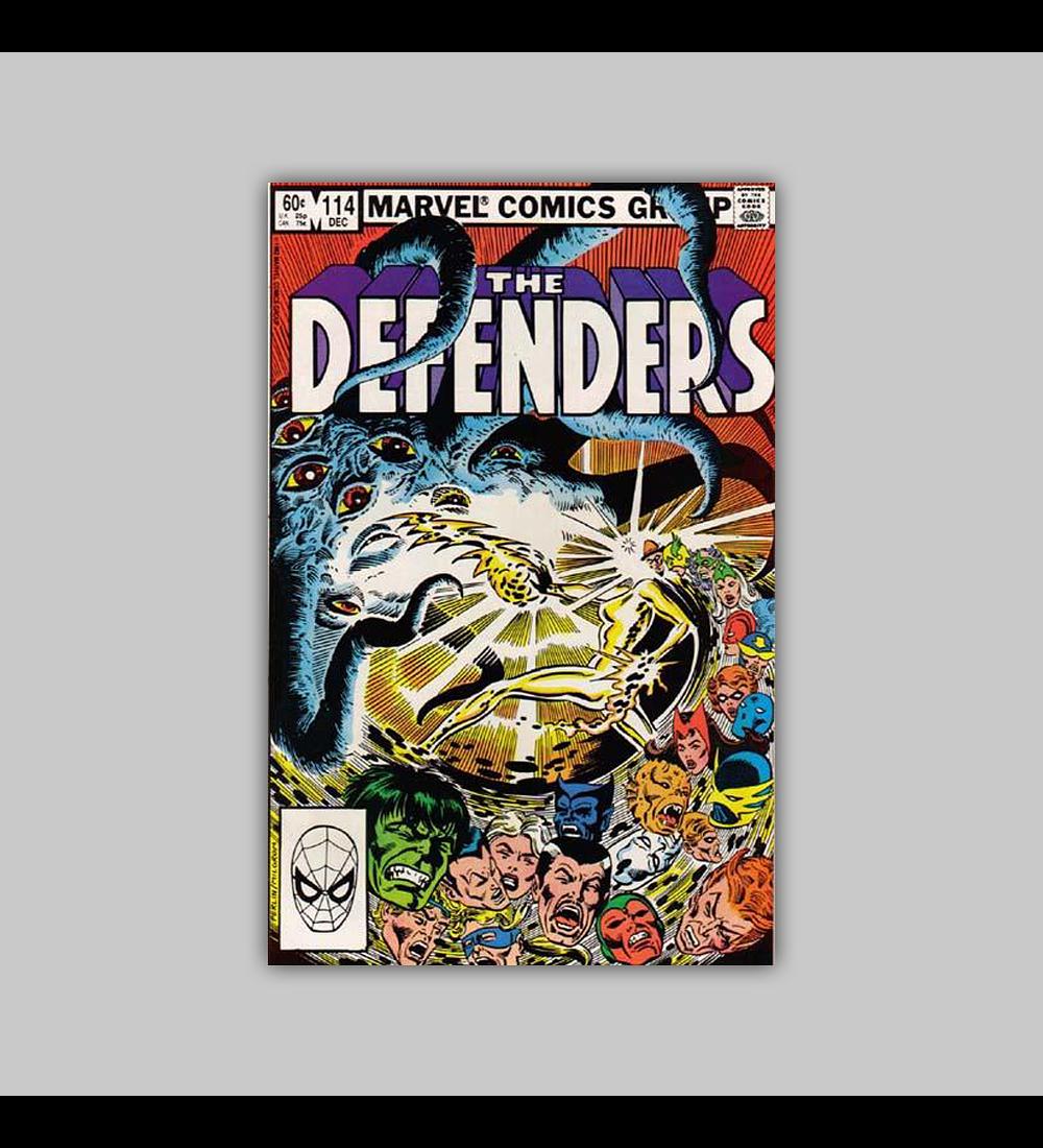 Defenders 114 VF/NM (9.0) 1982