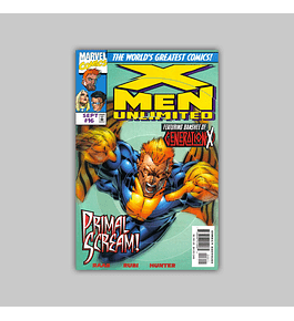 X-Men Unlimited 16 1997