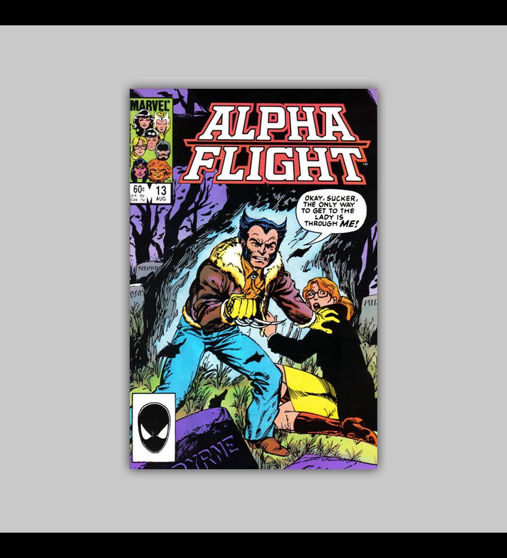 Alpha Flight 13 1984