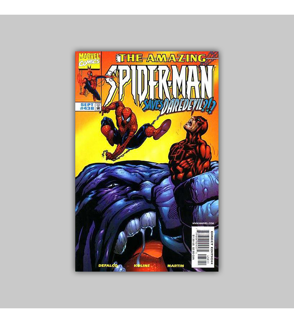 Amazing Spider-Man 438 1998