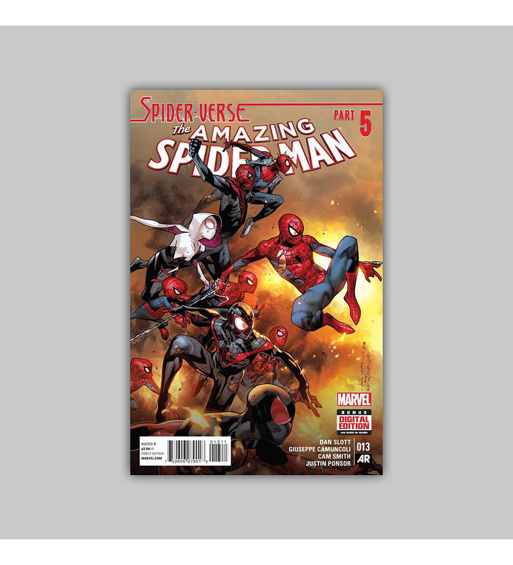 Amazing Spider-Man (Vol. 3) 13 2015