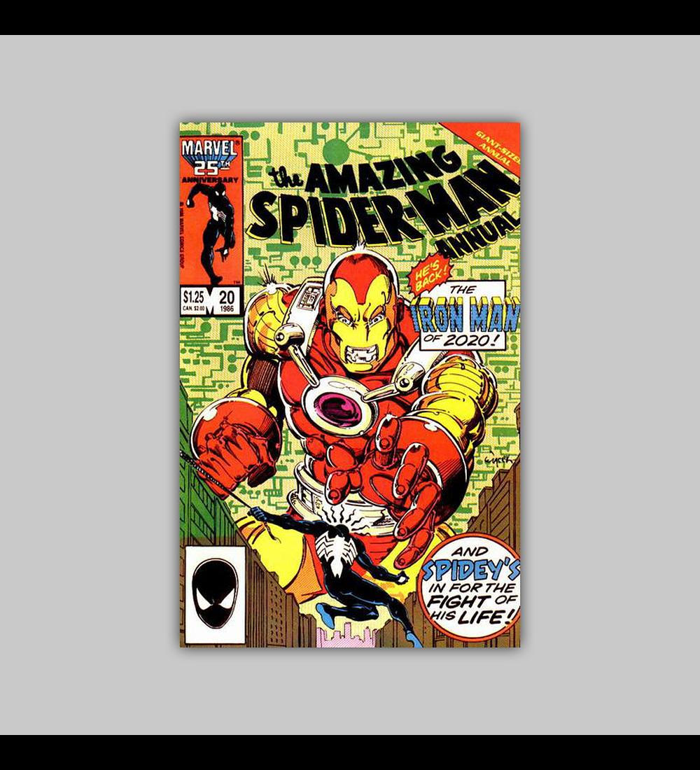 Amazing Spider-Man Annual 20 1986