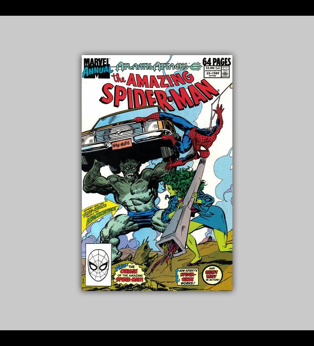 Amazing Spider-Man Annual 23 1989
