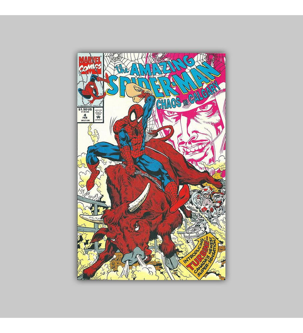 Amazing Spider-Man: Chaos In Calgary 4 VF/NM (9.0) 1993