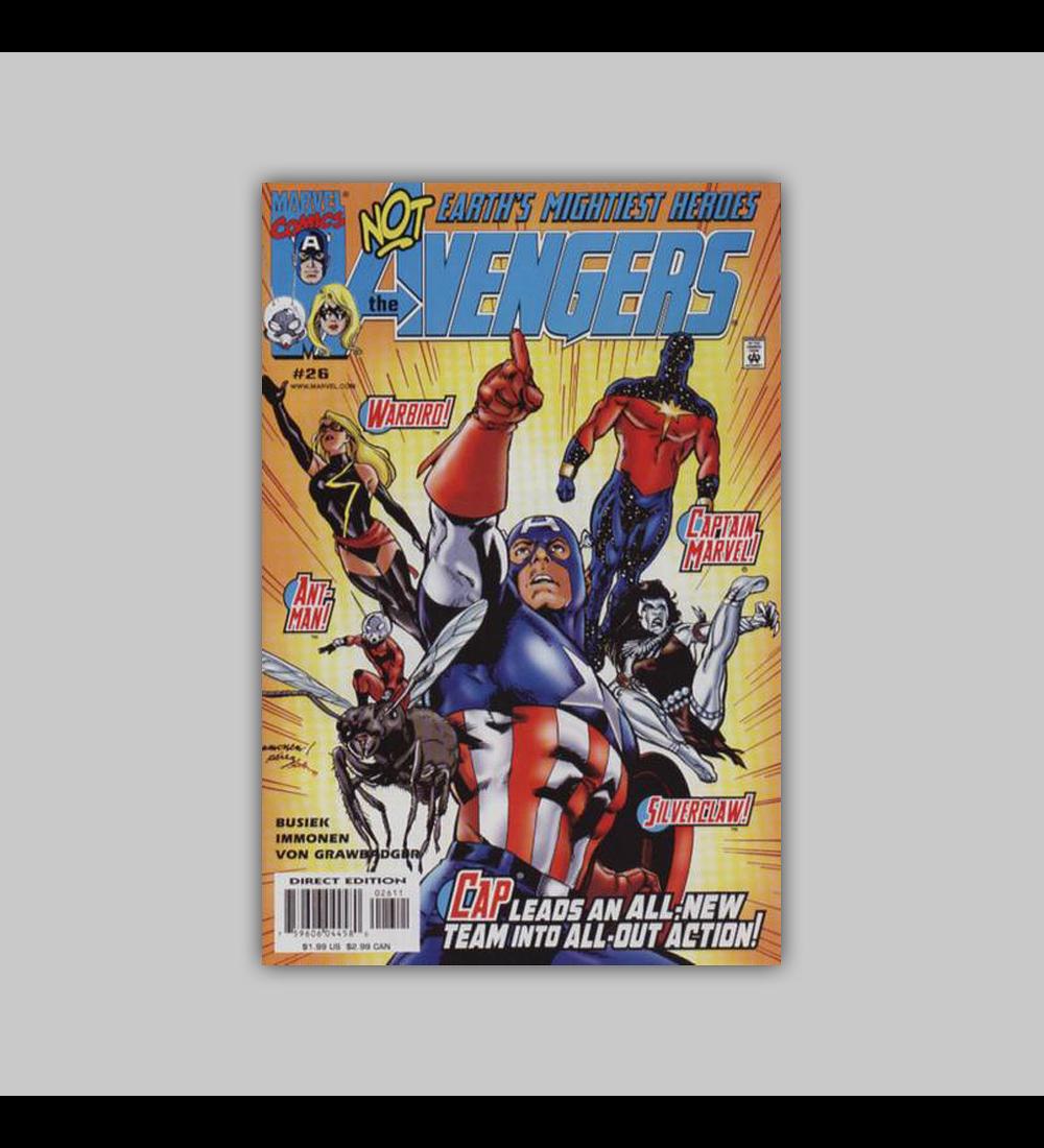 Avengers (Vol. 3) 26 2000