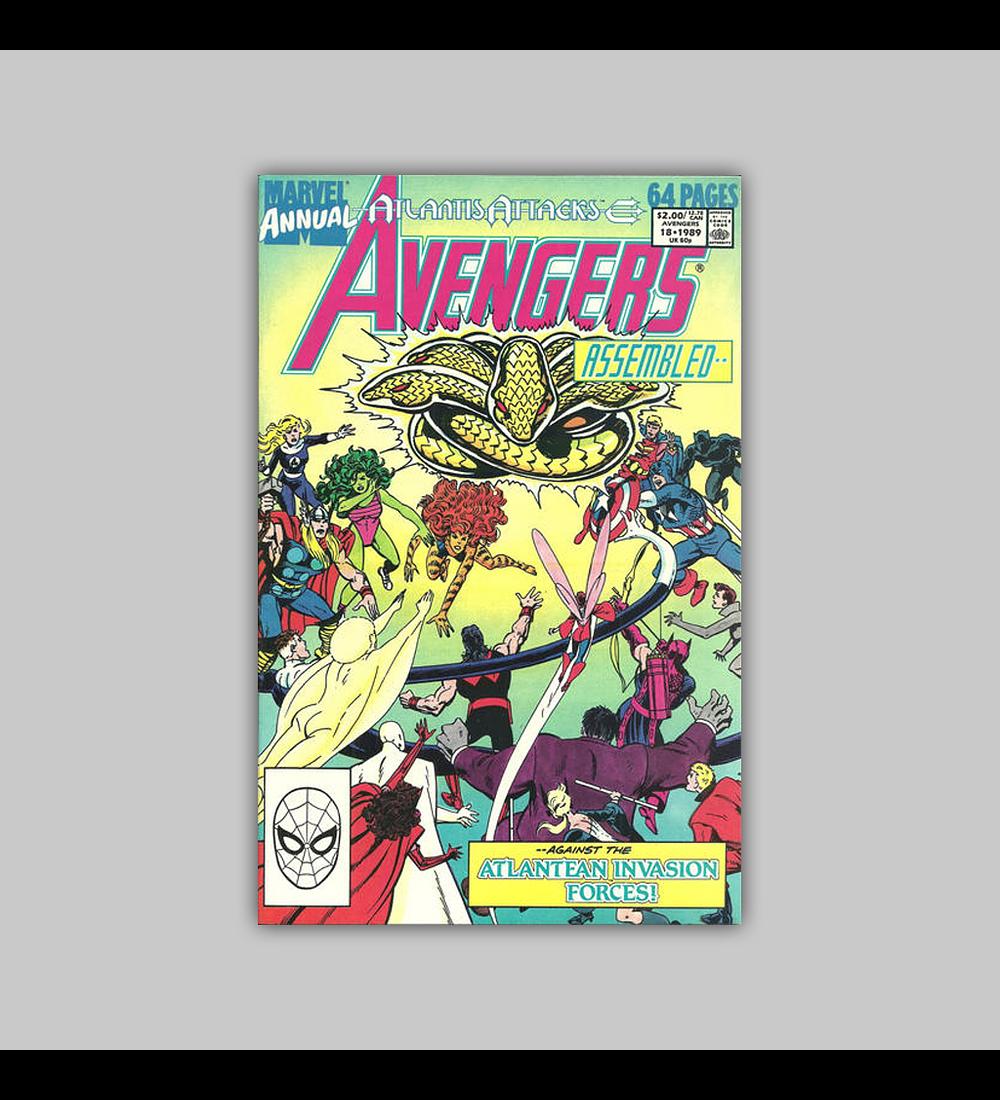 Avengers Annual 18 1989