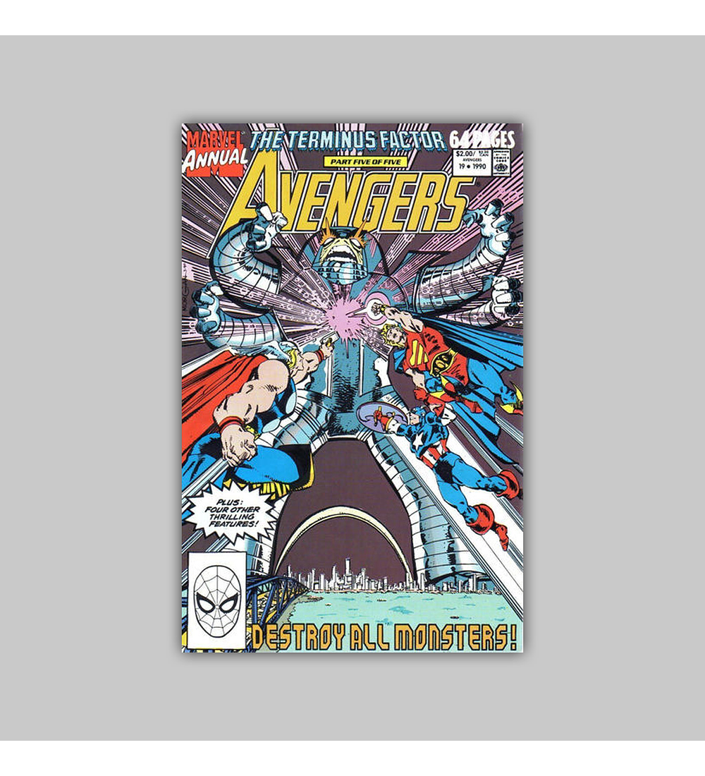 Avengers Annual 19 1990