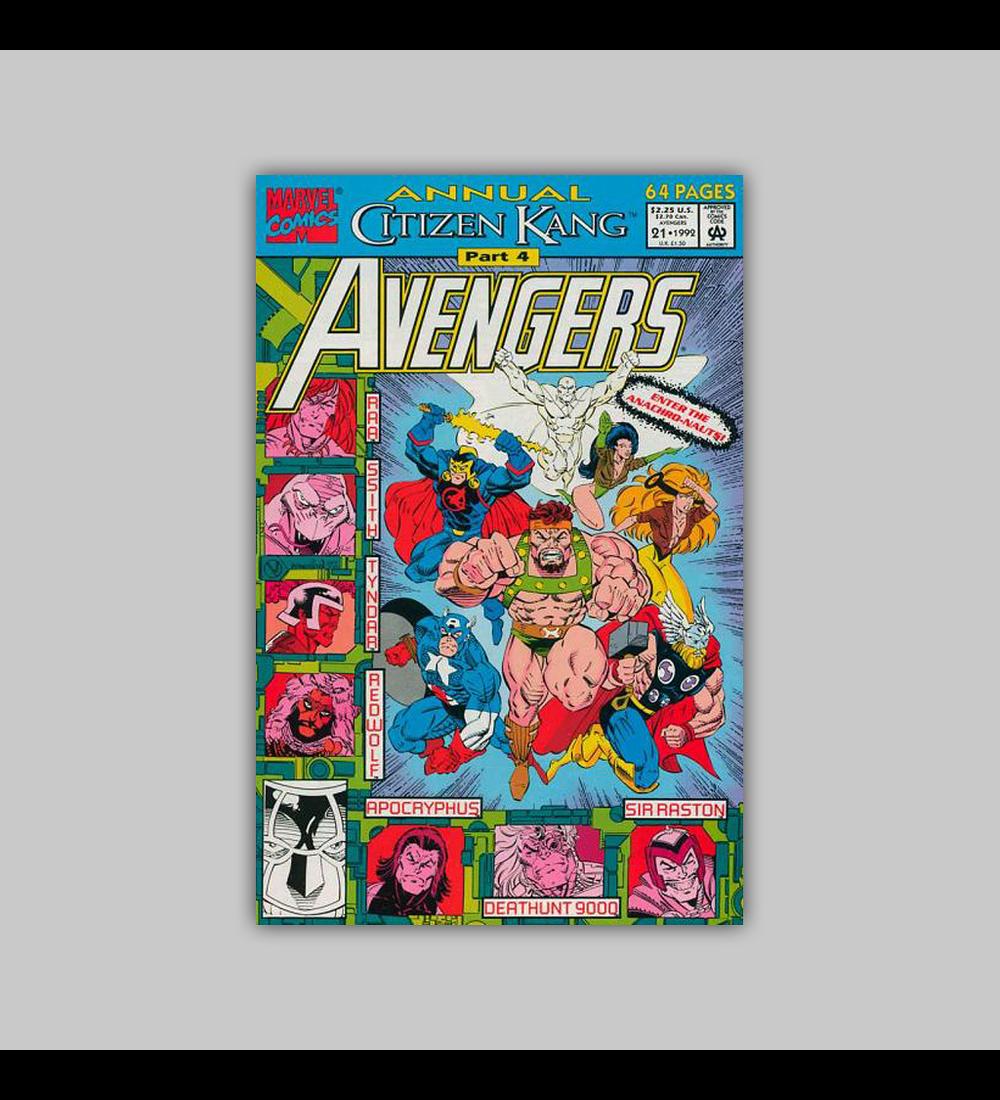 Avengers Annual 21 1992