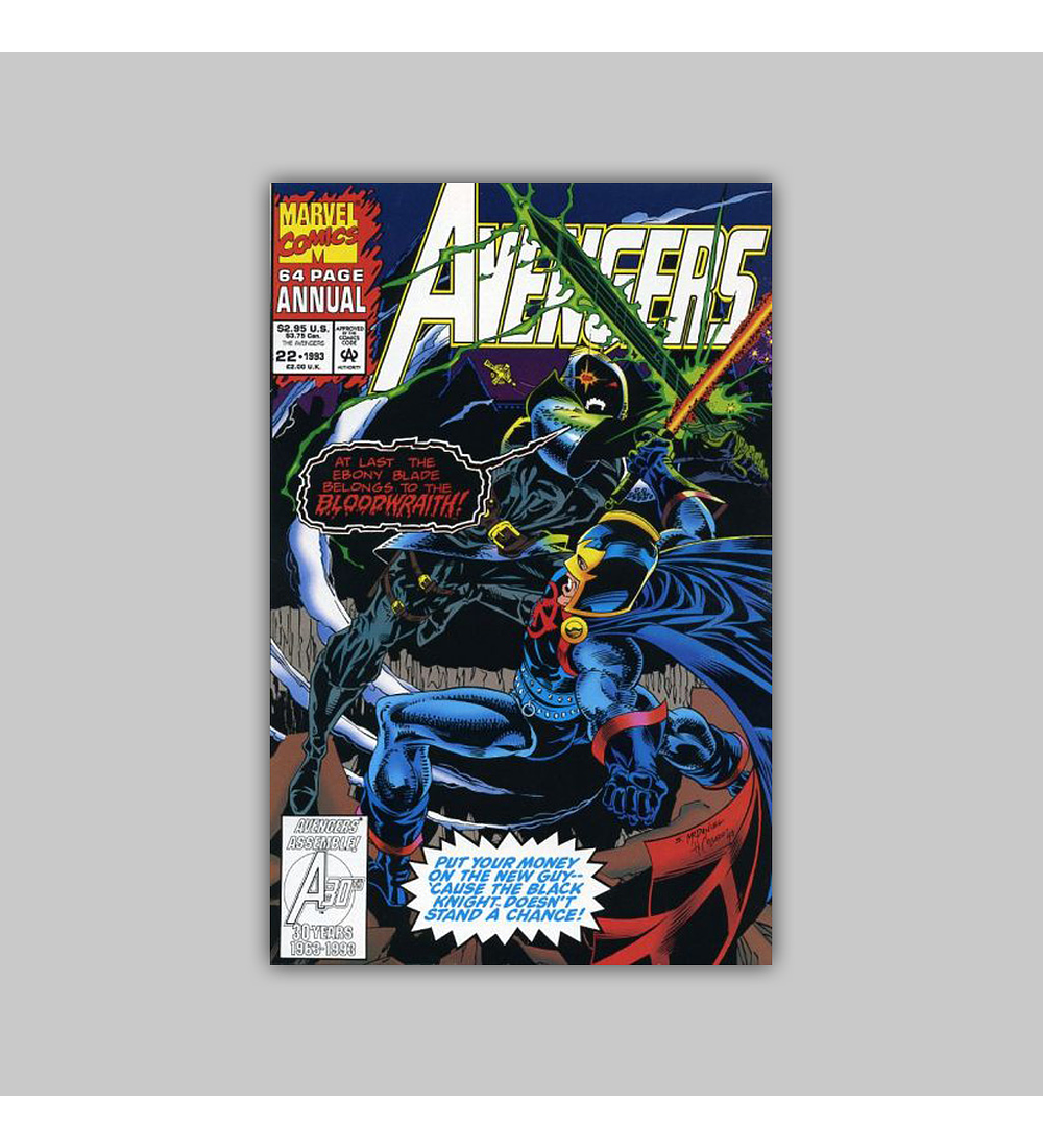 Avengers Annual 22 Polybagged 1993