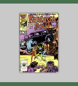 Fantastic Four 291 1986
