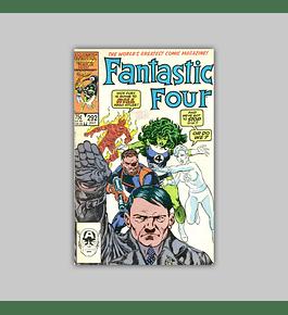 Fantastic Four 292 1986
