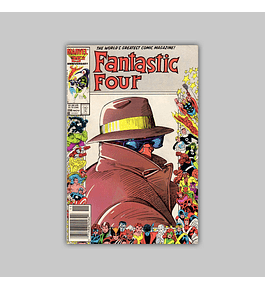 Fantastic Four 296 1986