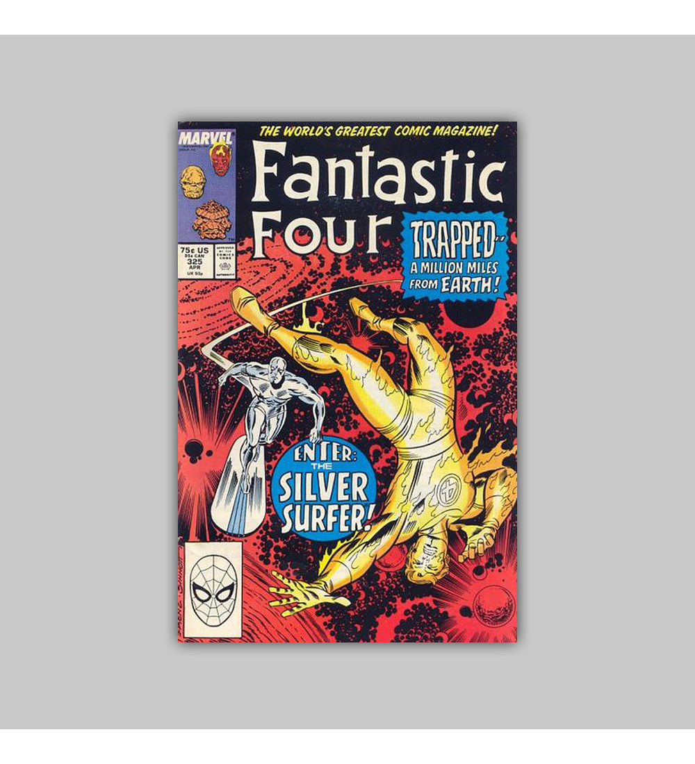 Fantastic Four 325 1989
