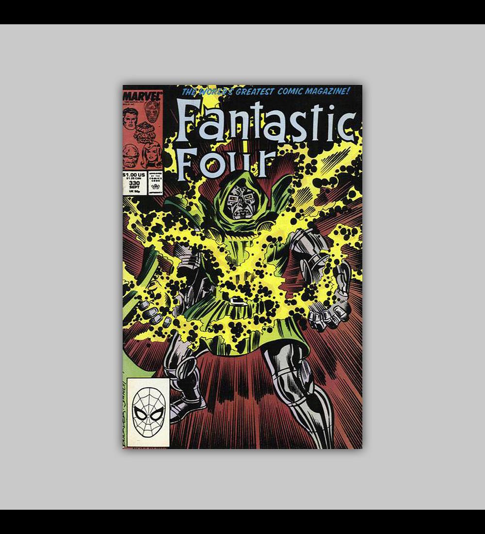 Fantastic Four 330 1988