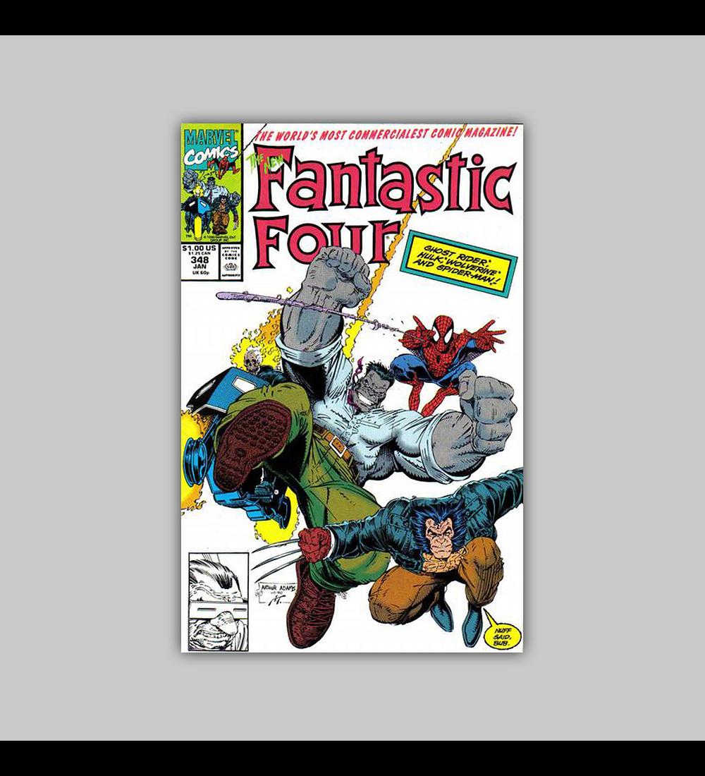Fantastic Four 348 1991