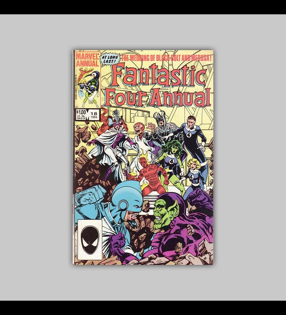 Fantastic Four Annual 18 1984