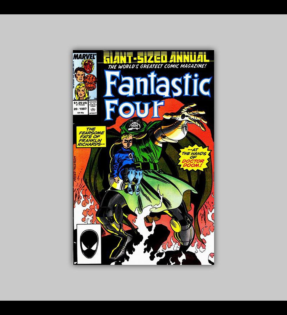 Fantastic Four Annual 20 1985
