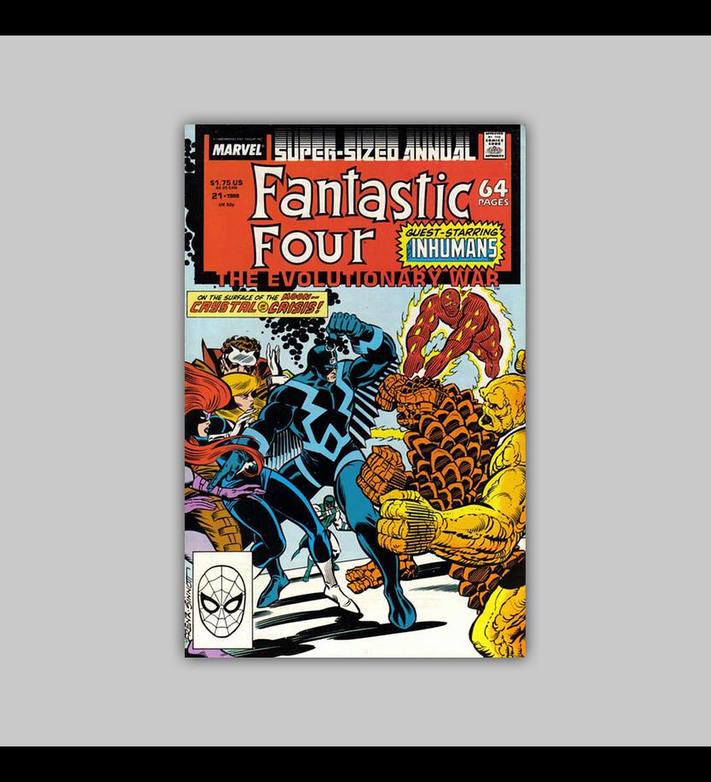 Fantastic Four Annual 21 1988