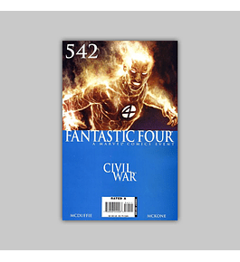 Fantastic Four (Vol. 3) 542 2007