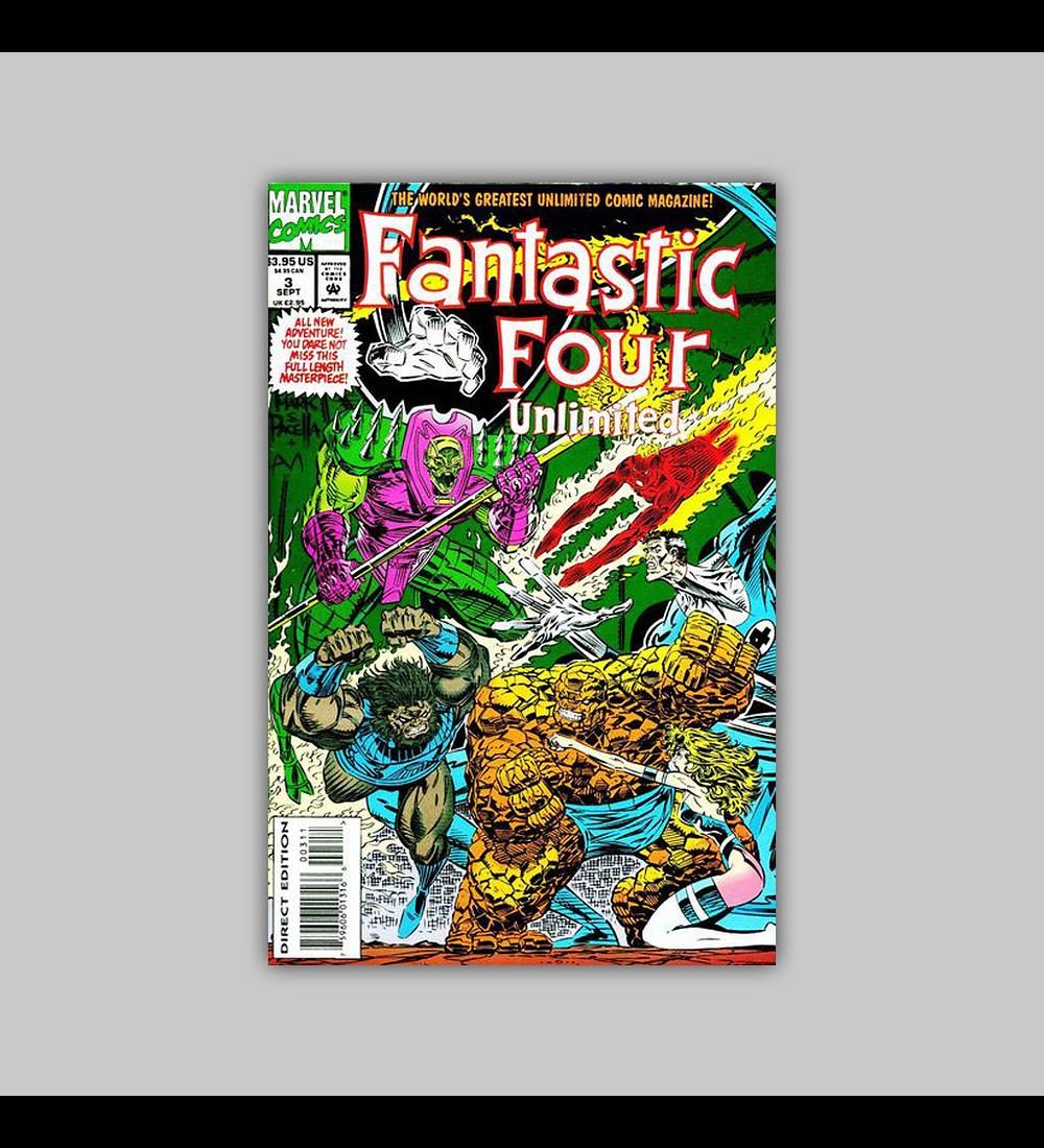 Fantastic Four Unlimited 3 VF (8.0) 1993