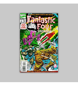 Fantastic Four Unlimited 3 VF (8.0) 1993