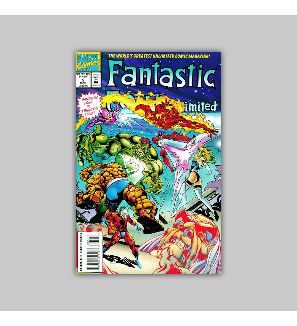 Fantastic Four Unlimited 5 1994