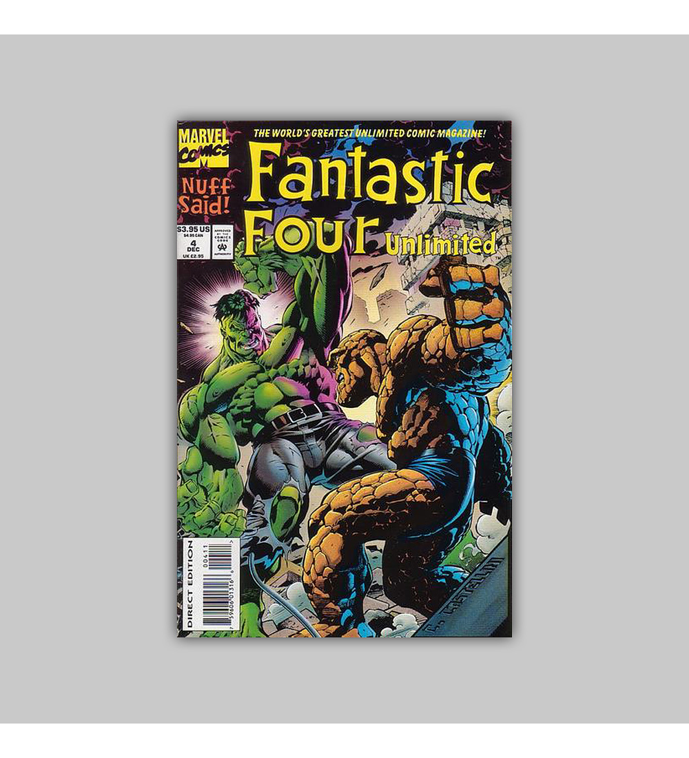 Fantastic Four Unlimited 4 1993