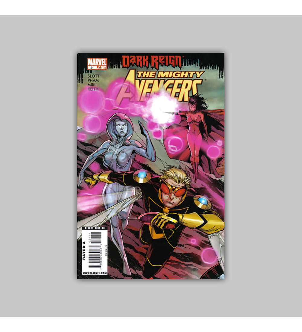 Mighty Avengers 21 2009