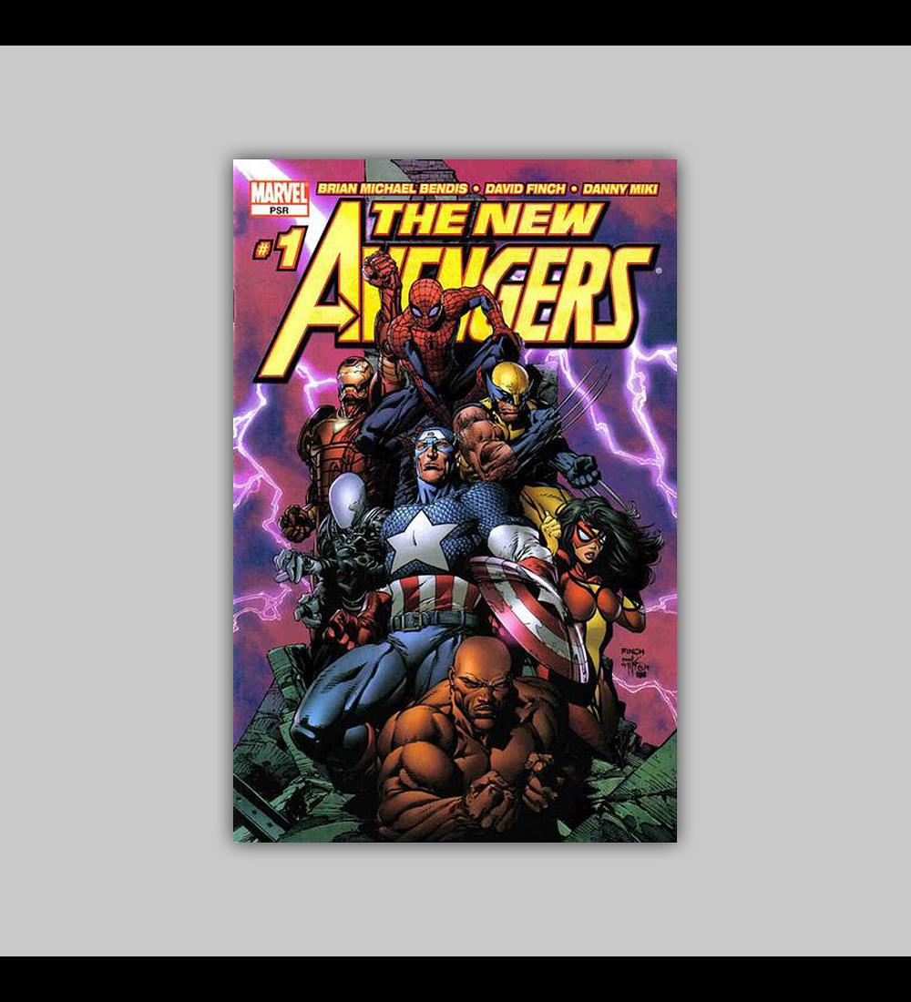 New Avengers 1 C 2005