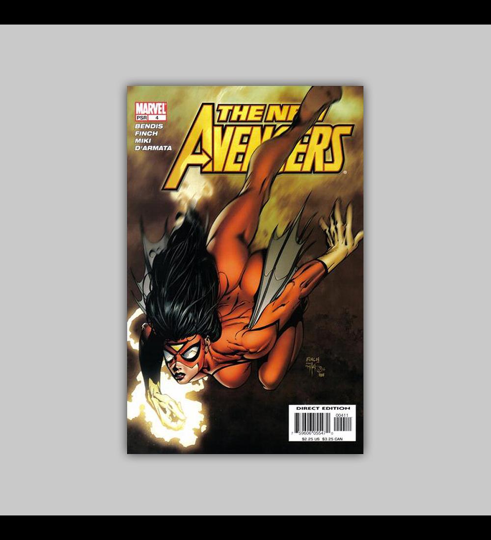 New Avengers 4 2005