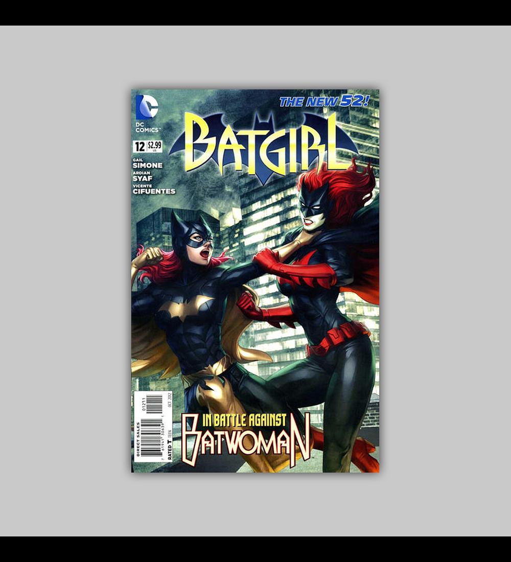 Batgirl (Vol. 2) 12 2012