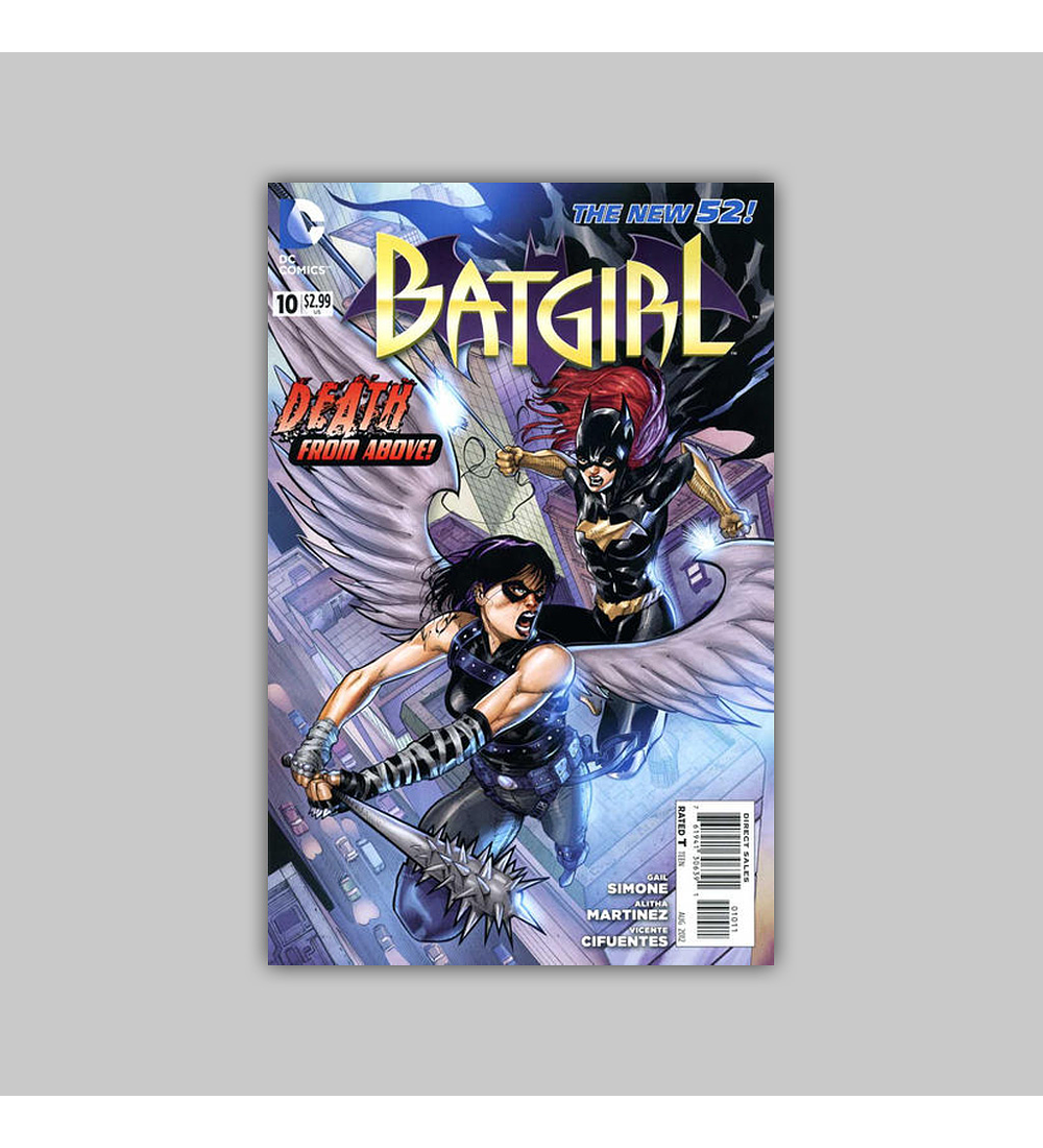 Batgirl (Vol. 2) 10 2012