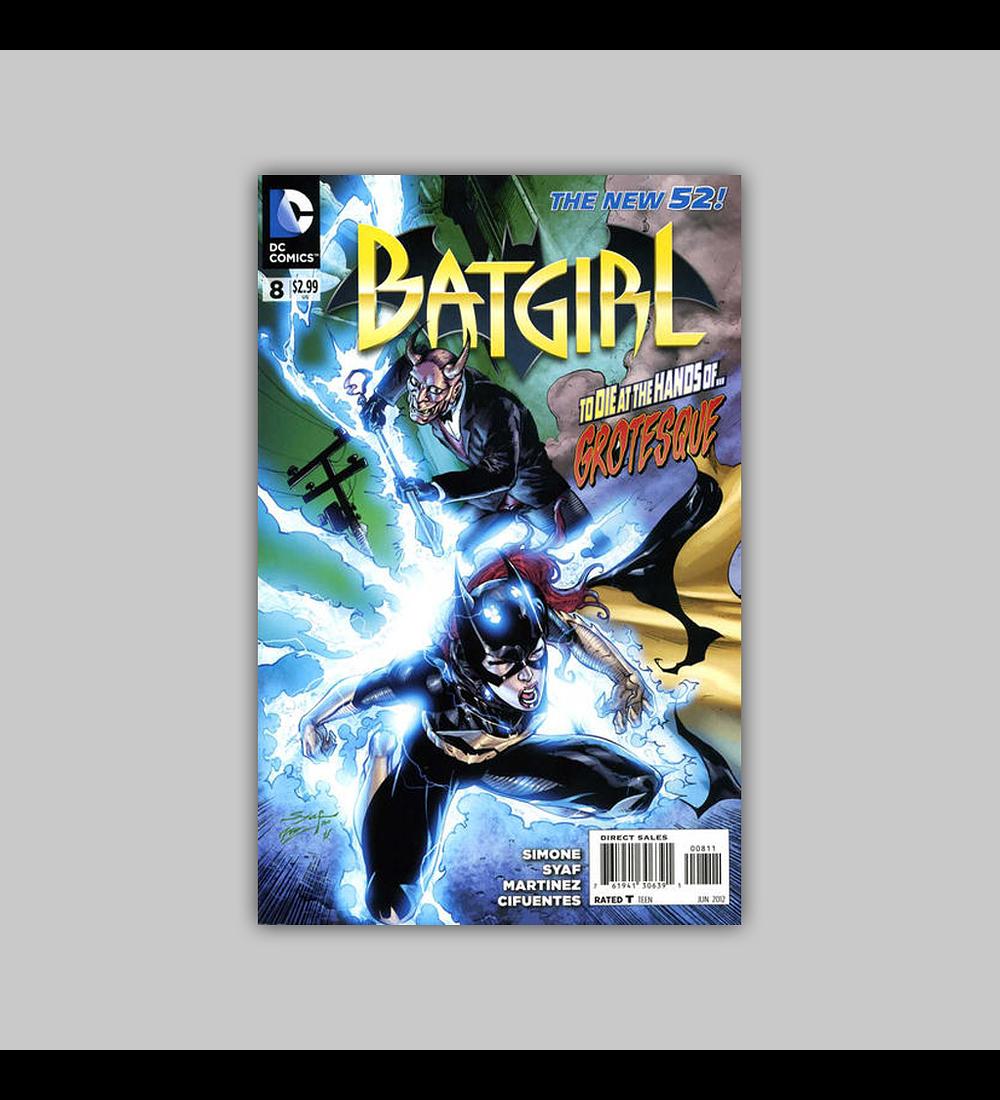 Batgirl (Vol. 2) 8 2012