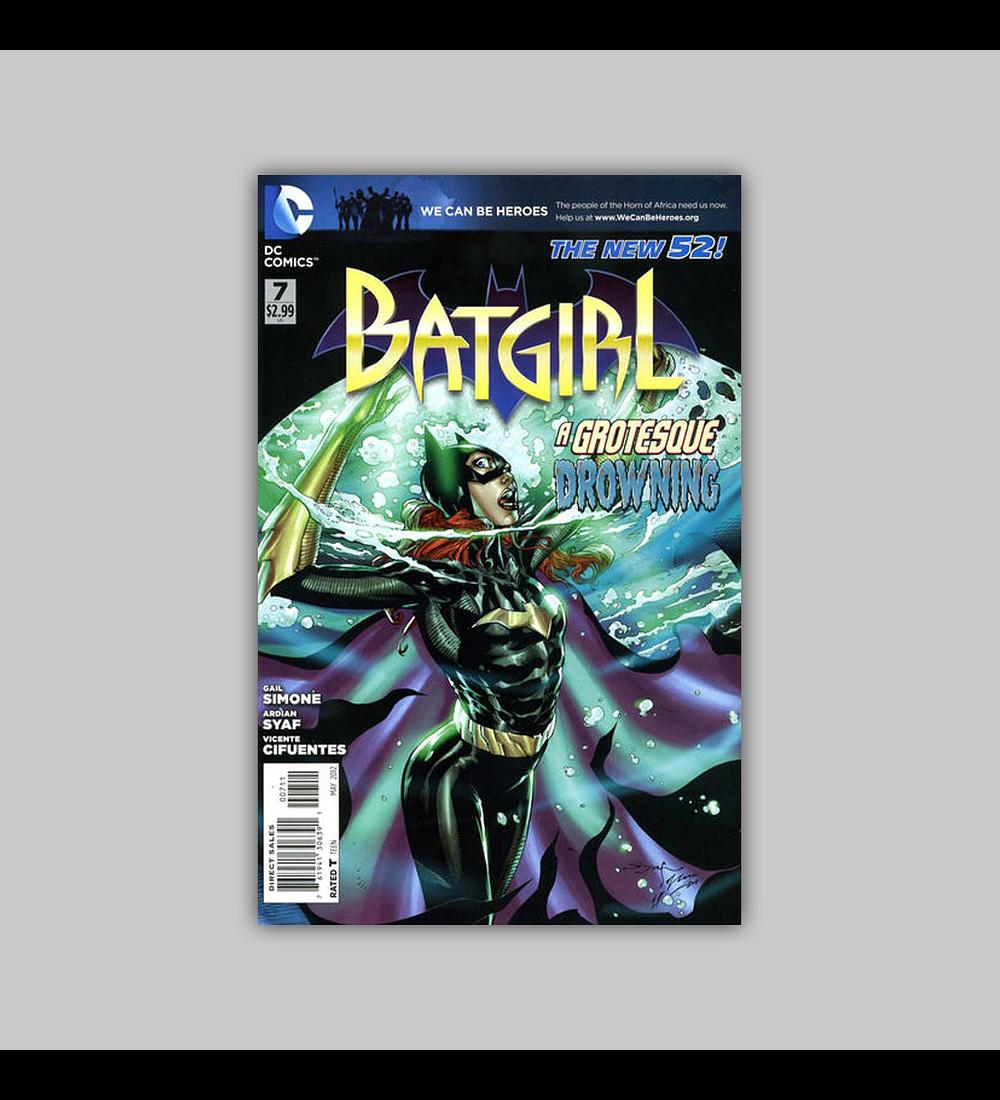 Batgirl (Vol. 2) 7 2012