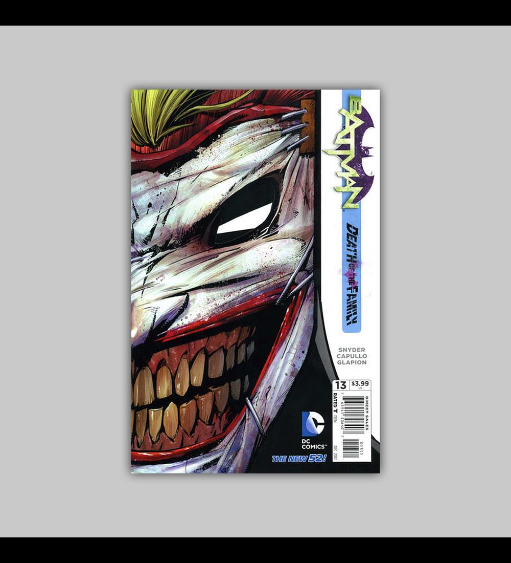 Batman (Vol. 2) 13 Die-cut 2012