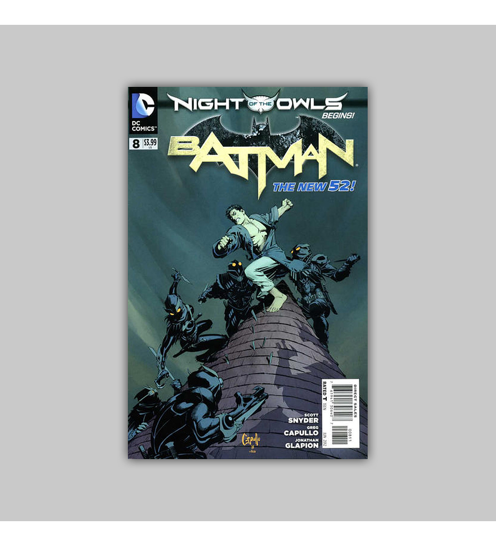 Batman (Vol. 2) 8 2012