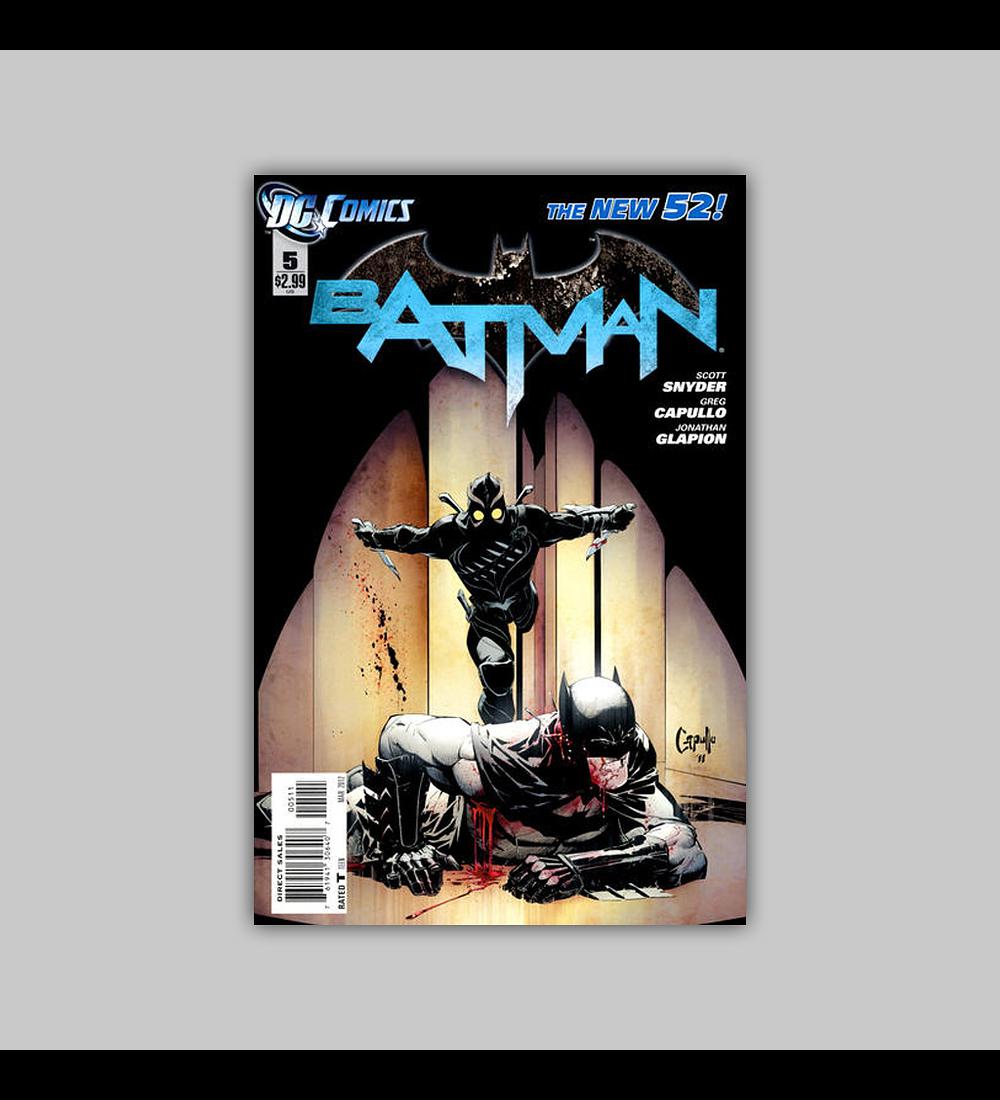 Batman (Vol. 2) 5 2012