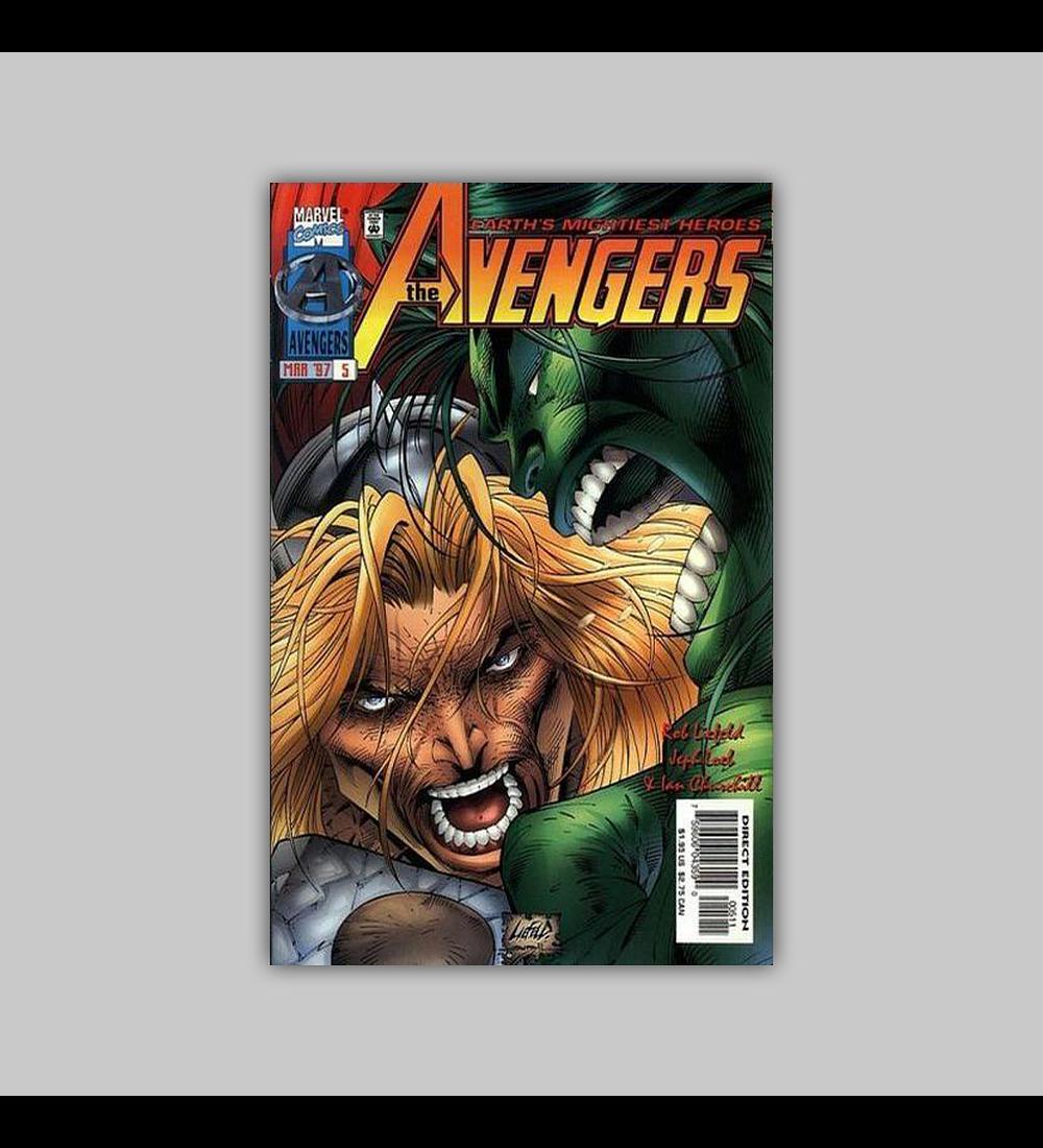 Avengers (Vol. 2) 5 B 1997