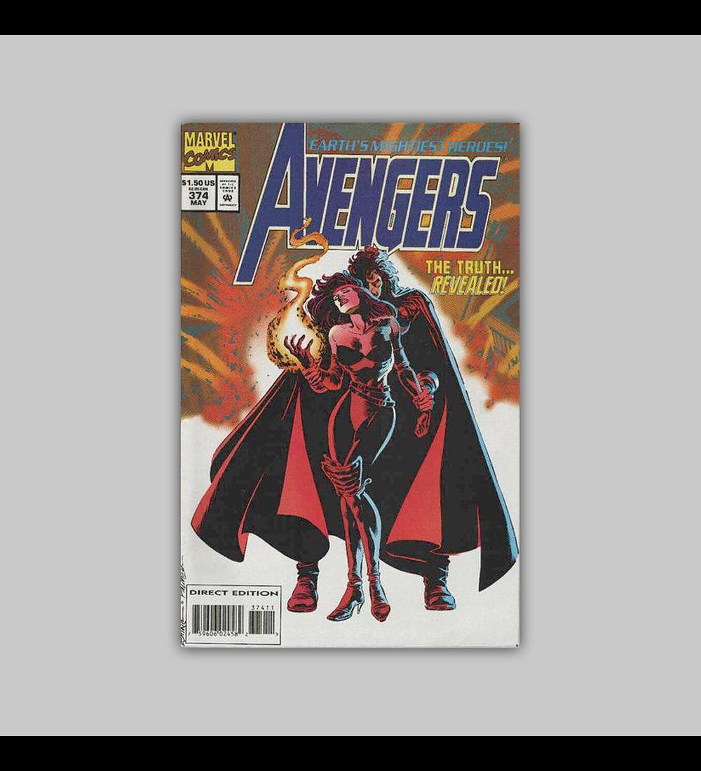Avengers 374 VF (8.0) 1994