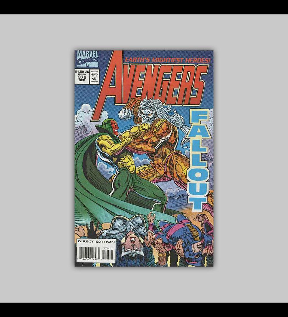 Avengers 378 1994