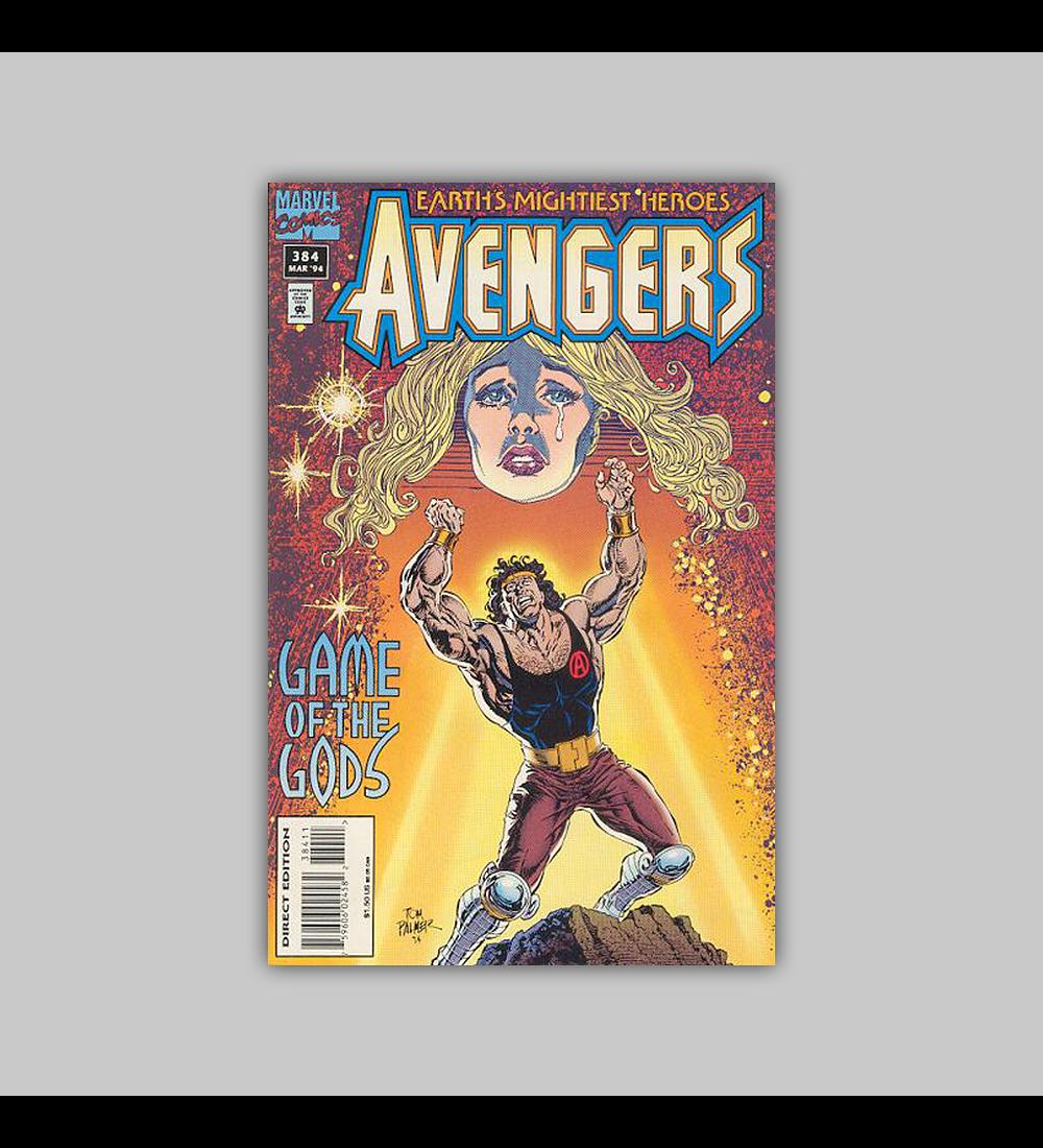 Avengers 384 1995