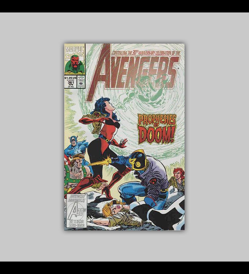 Avengers 361 1993