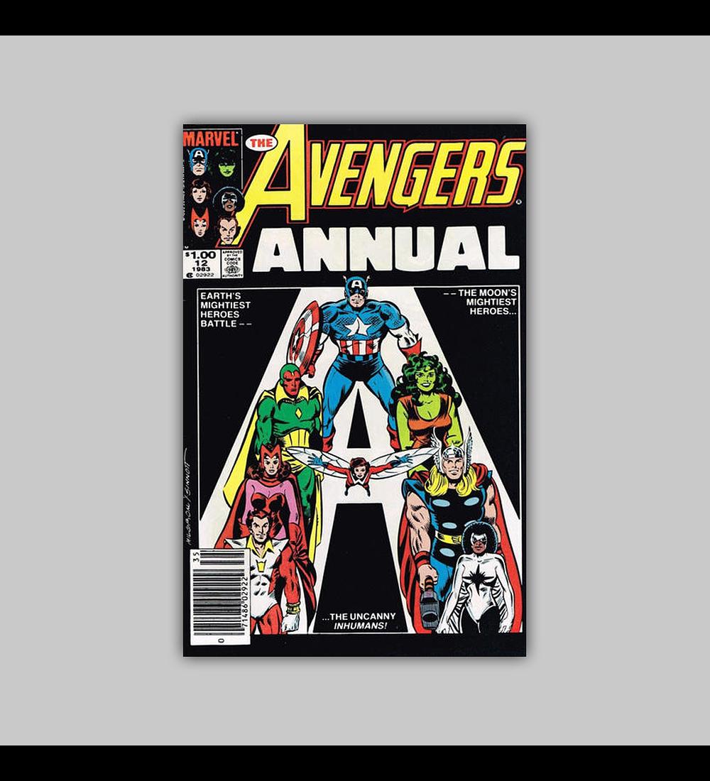 Avengers Annual 12 1983